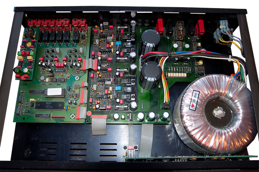 Eridan Audio - Реставрация усилителя Micromega Tempo 1